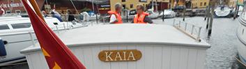 Tirsdag d. 5. juli kl. 17: Havnerundfart med KAJA for medlemmer af museumsforeningen
