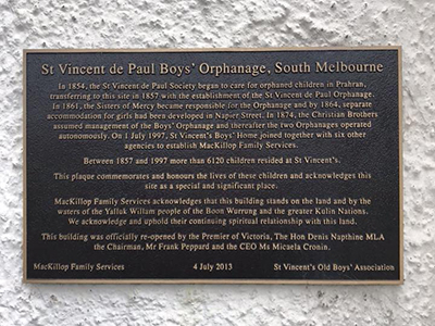 St. Vincent de Pauls Orphanage South Melbourne 400x300