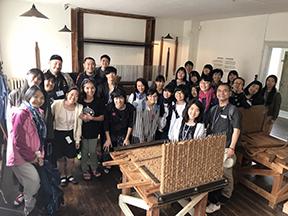 30 japanere på besøg