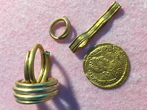 Guldfund fra romersk jernalder