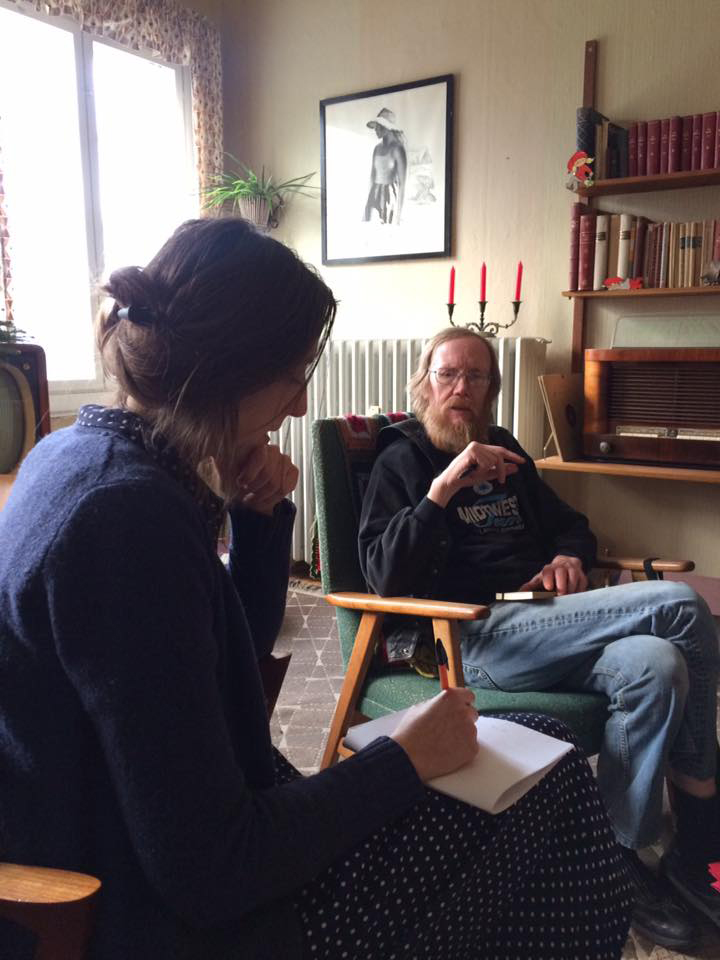 Stine interviewer Peer