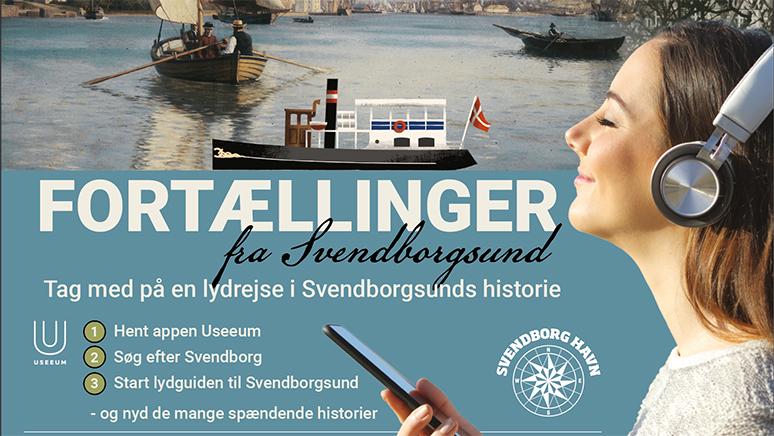 Oplev de mange spændende fortællinger fra Svendborgsund med audioguiden