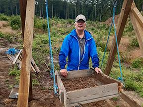 Åbent hus på udgravningslejr