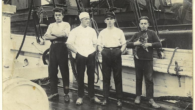 Smuglernes paradis - besætningen på VALDEMAR af Thurø