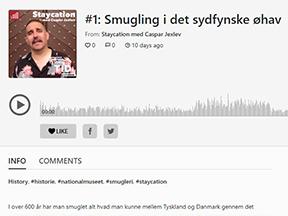 Nils fortæller i radio LOUD