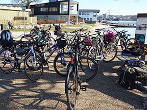 Søfartshistorie på cykel